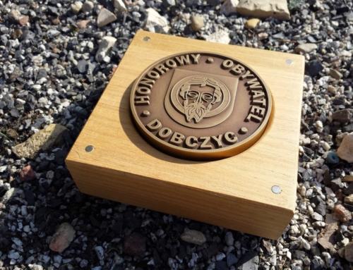 Medal Grawerowany – indywidulne zamówienie.